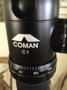 ZOOM review: Review: Coman EMU TM287A statief